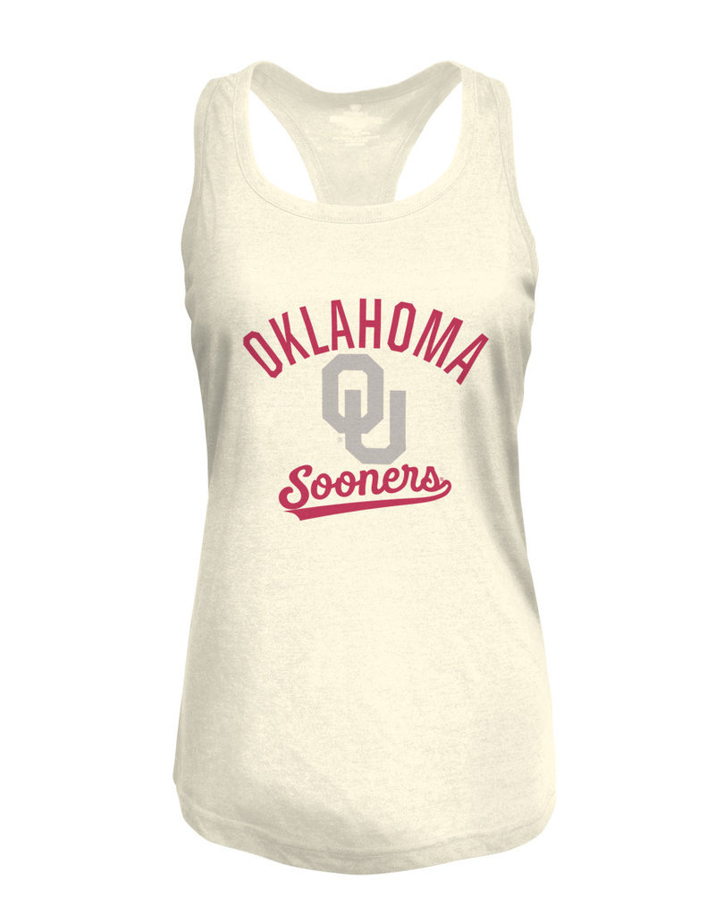 Top of the World Women's TOW Heritage Triblend Oatmeal Racerback Tank