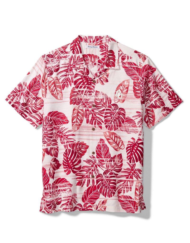 Tommy Bahama Men's Tommy Bahama OU Super Fan Silk Camp Shirt