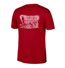Top of the World Men's TOW Cardinal Heritage Triblend Schooner Tee
