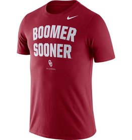 Nike Men's Nike Dri-Fit Cotton Boomer Sooner Phrase Tee