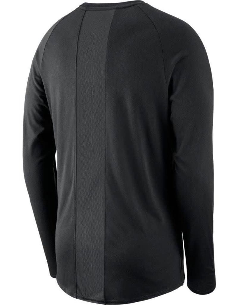 Jordan Men's Jordan J23 OU Black Alpha Dry Long-sleeve Top