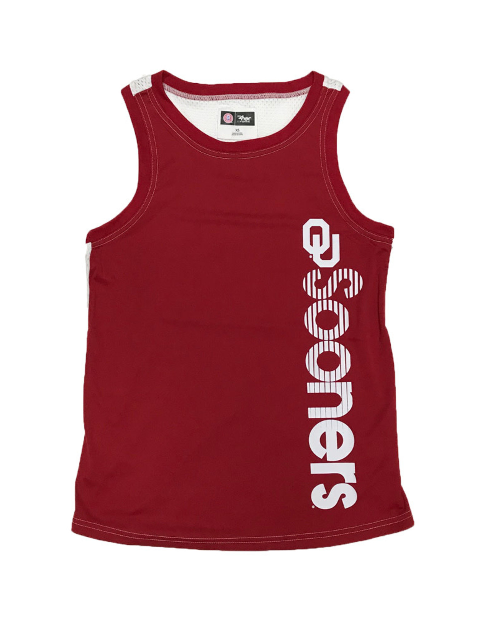 Ladies' OU Sooners Jersey Back Record Setter Tank