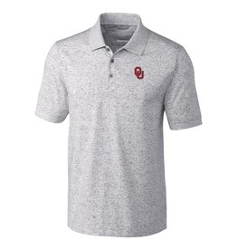 Cutter & Buck Men's Cutter & Buck OU Gray Advantage Space Dye Polo
