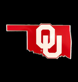 Team ProMark OU Color State Aluminum Emblem