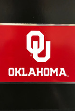 Team ProMark OU Sooners Flag Aluminum Color Emblem