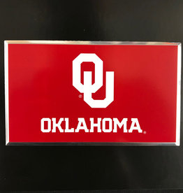 Team ProMark OU Sooners Flag Aluminum Color Emblem