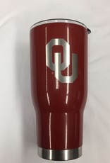 Nordic OU Crimson 32oz Stainless Tumbler Laser Engraved