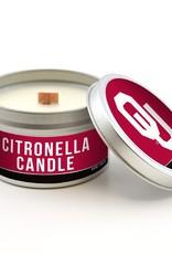 Worthy OU Citronella Candle Tin 5.8 oz.