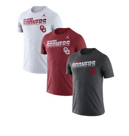 Jordan Men's Jordan Oklahoma Sooners OU Legend Sideline T-Shirt