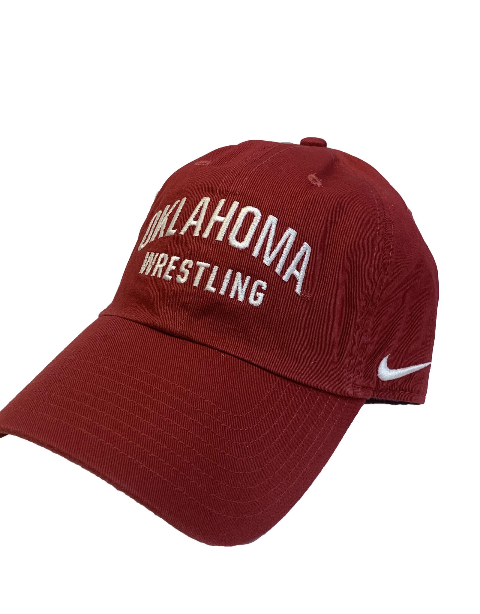 Nike Nike Oklahoma Wrestling Campus Cap Crimson