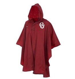Storm Duds OU Crimson Medium Weight Adult Rain Poncho