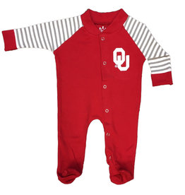 Little King Infant Footed Snap Cotton Romper