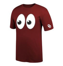 Top of the World Men's TOW Riley's Eyes Emoji OU Tee
