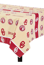 """Creative Converting There's Only One Oklahoma Plastic Tablecover 54""""x108"""""""