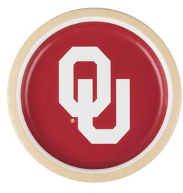 "Creative Converting OU 8 3/4"" Paper Plate Set of 8"