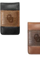 MCM Brands MCM Westbridge OU Two-Tone Leather Money Clip