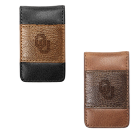 MCM Brands MCM Westbridge OU Two-Tone Leather Money Clip