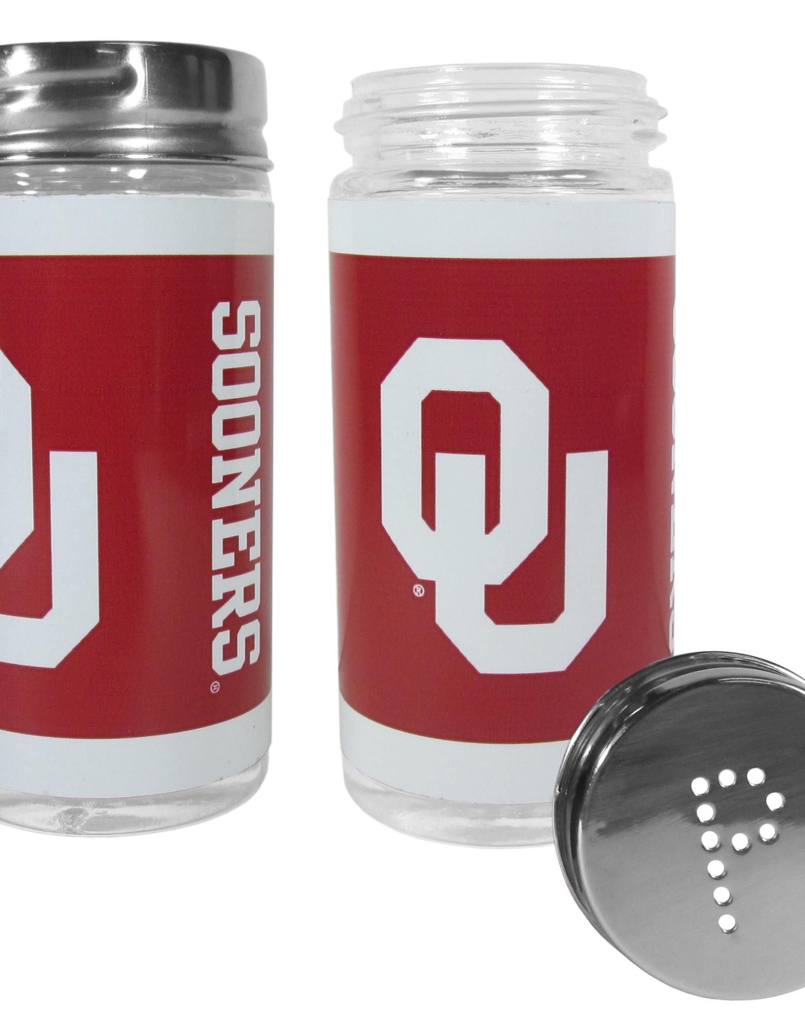 Siskiyou OU Sooners Glass Salt & Pepper Set