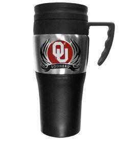 Siskiyou OU Sooners Plastic Travel Mug w/ Handle
