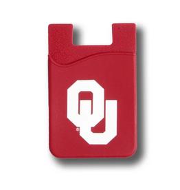 Desden OU Cell Phone Wallet-Crimson