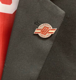 Siskiyou OU Flying Bar Lapel Pin