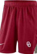 Youth Nike OU Franchise Short Crimson