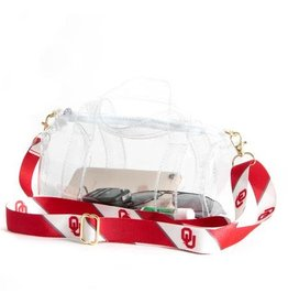 Desden Desden Kay Kay Clear Mini Duffle Purse