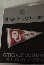 WinCraft OU Sooners Pennant Lapel Pin