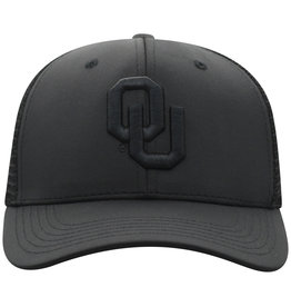 Top of the World Men's TOW Chatter One-Fit Black on Black Hat