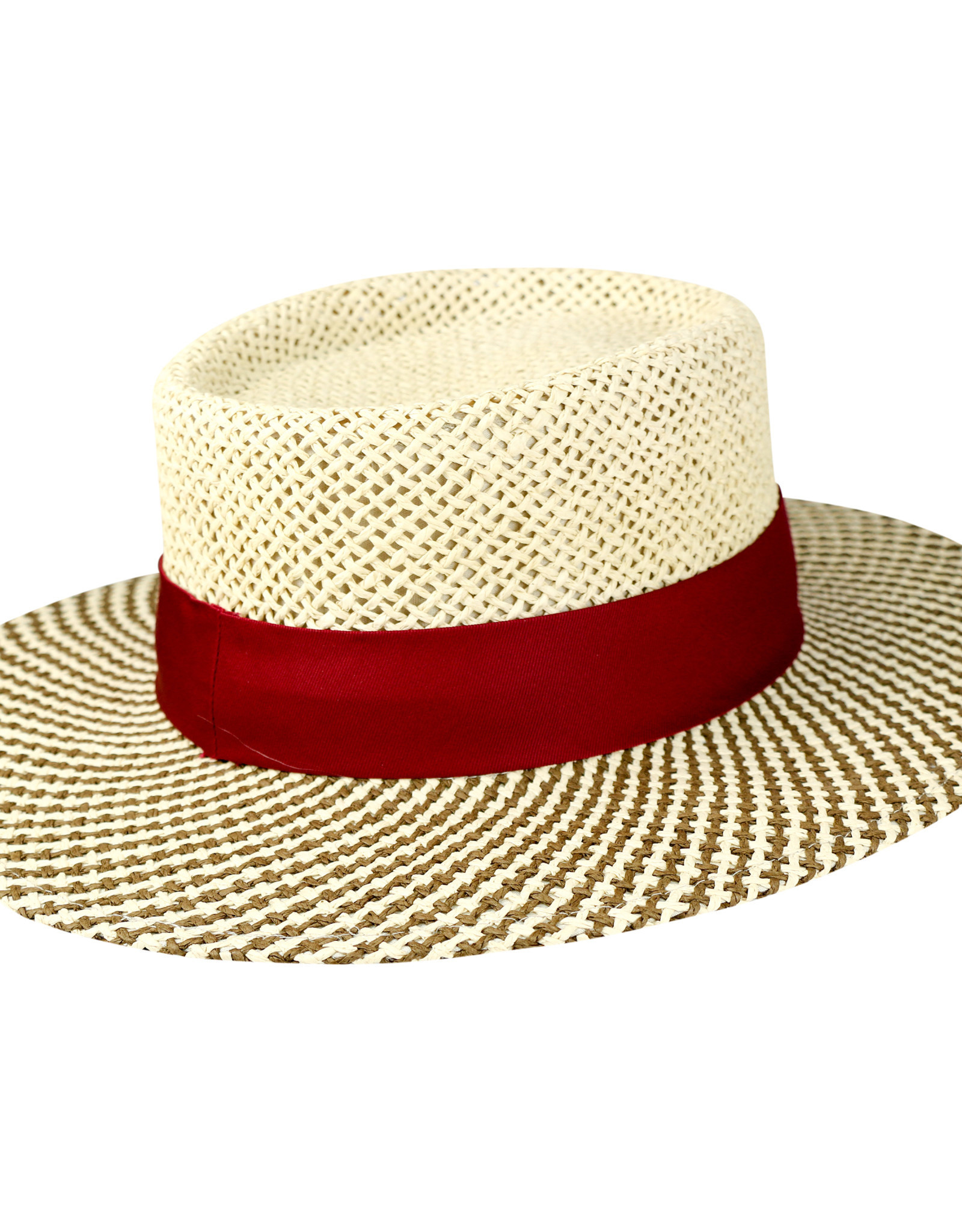 Top of the World TOW Sand Trap Straw Golf Hat