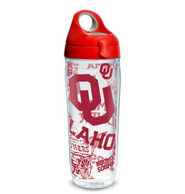 Tervis Tervis 24oz OU Wrap Design Water Bottle w/ Lid