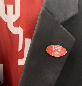 WinCraft OU 125 Years Football Lapel Pin