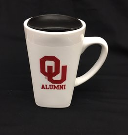 The Fanatic Group 15oz OU Alumni Ceramic Cube Mug