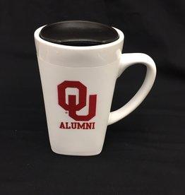 The Fanatic Group 15oz OU Alumni Ceramic Cube Mug