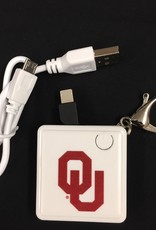 The Fanatic Group OU Rechargable Keychain Charger