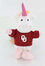 Collegiate Plush Pals OU Bean Buddies Unicorn