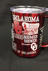 Boelter OU 15oz Ultra Mug-Crimson Stainless Steel