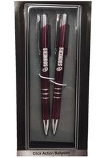 LXG LXG OU Sooners Dk. Crimson Pen & Pencil Set