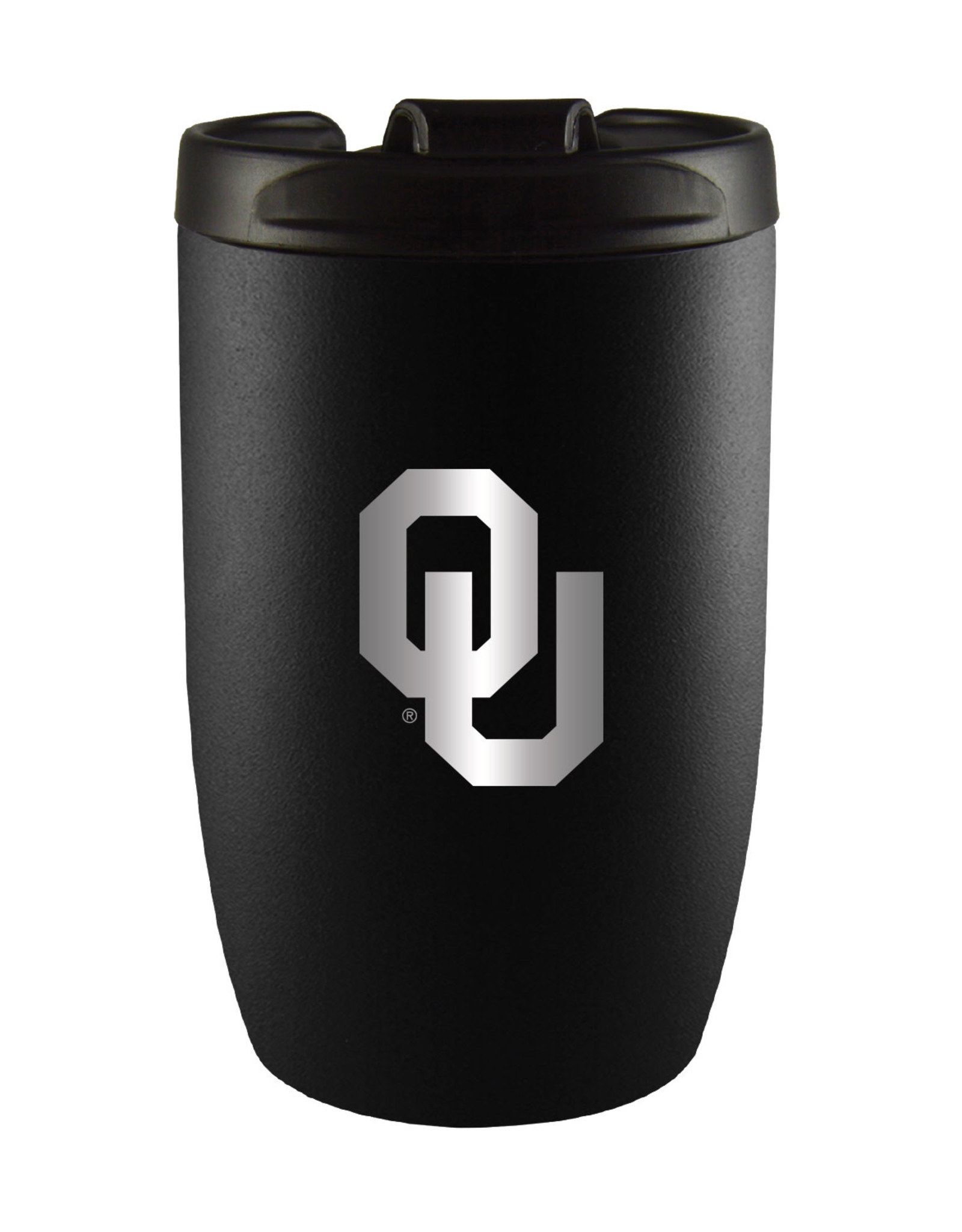 LXG OU 10oz Black Vacuum Tumbler Stainless Steel Liner