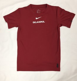 Nike Youth Nike Dri-Fit Oklahoma Crimson Coach's Top