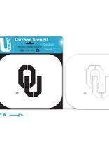 U-Stencil OU Curb Stencil