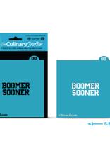 U-Stencil Boomer Sooner Culinary/Crafter Stencil