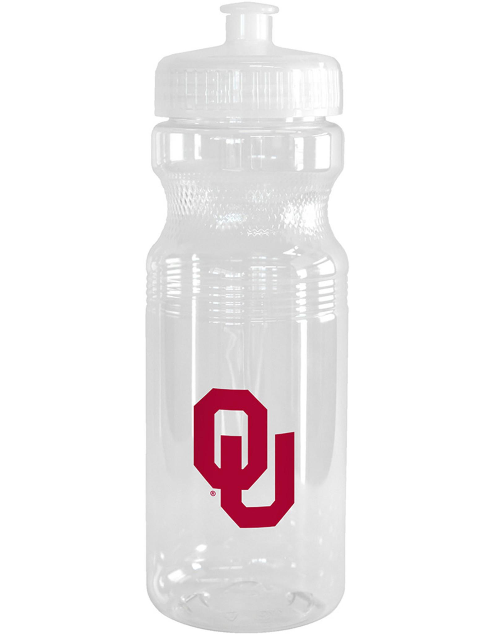 Boelter OU Clear Plastic 24oz Squeeze Water Bottle