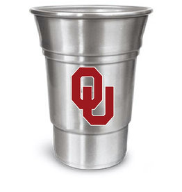 The Memory Company OU Aluminum Party Cup