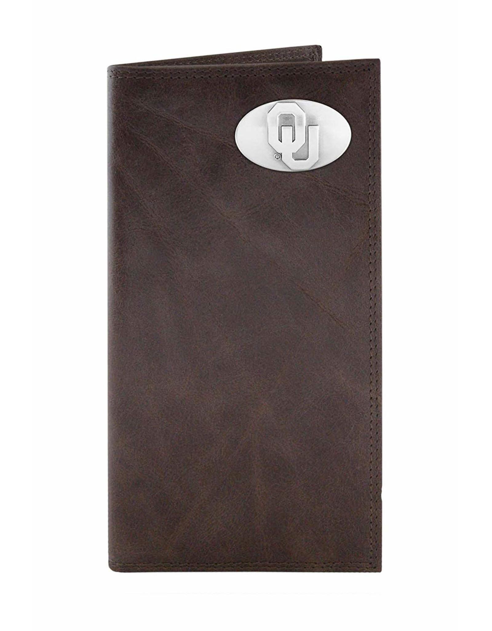 Zep-Pro Zep-Pro Brown Wrinkle Roper Wallet