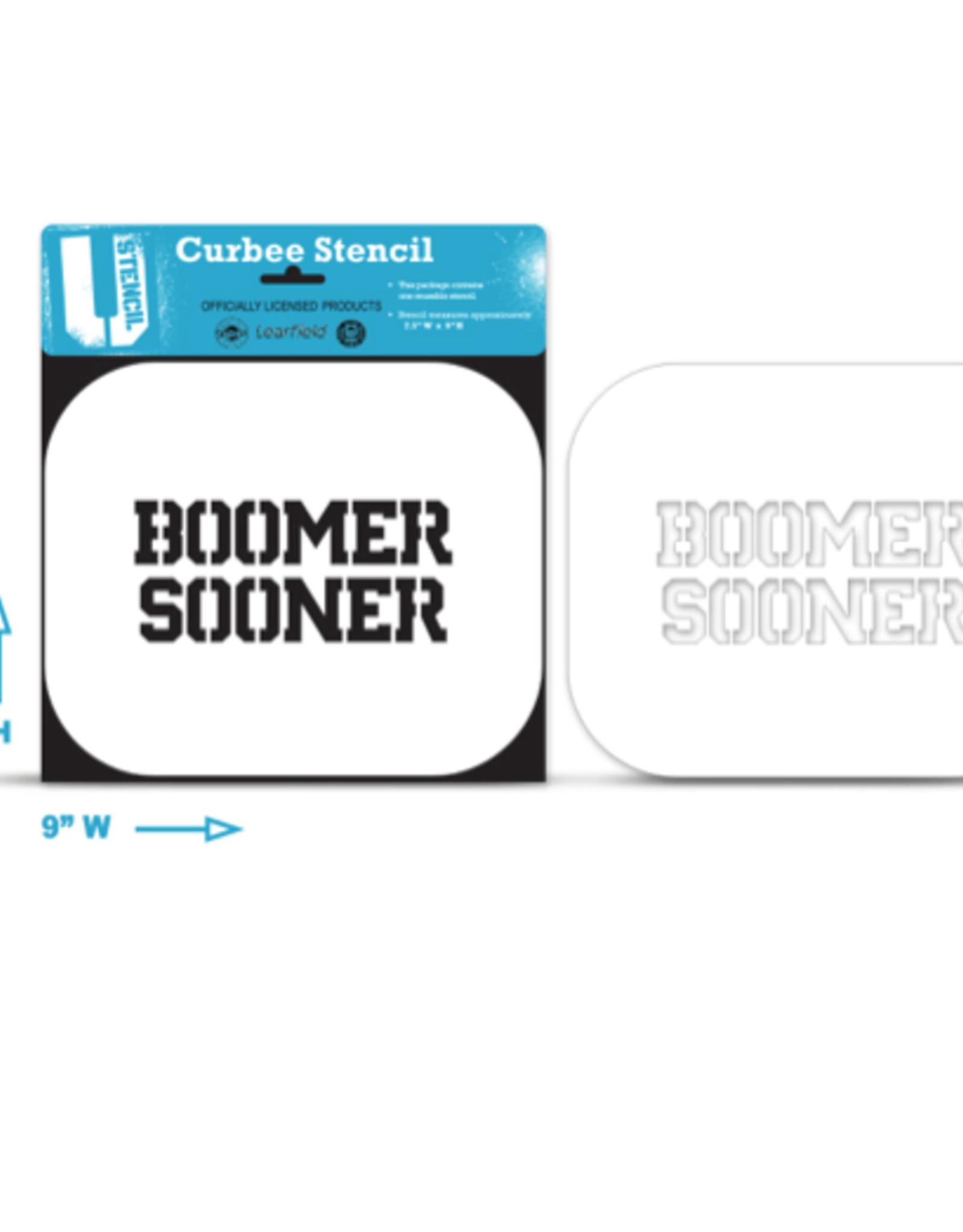 U-Stencil Boomer Sooner  Curb Stencil