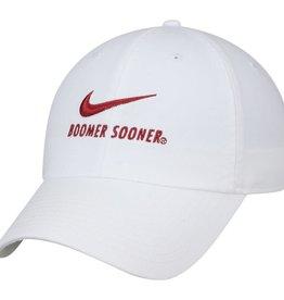 Nike Nike H86 White Boomer Sooner Swoosh Cap