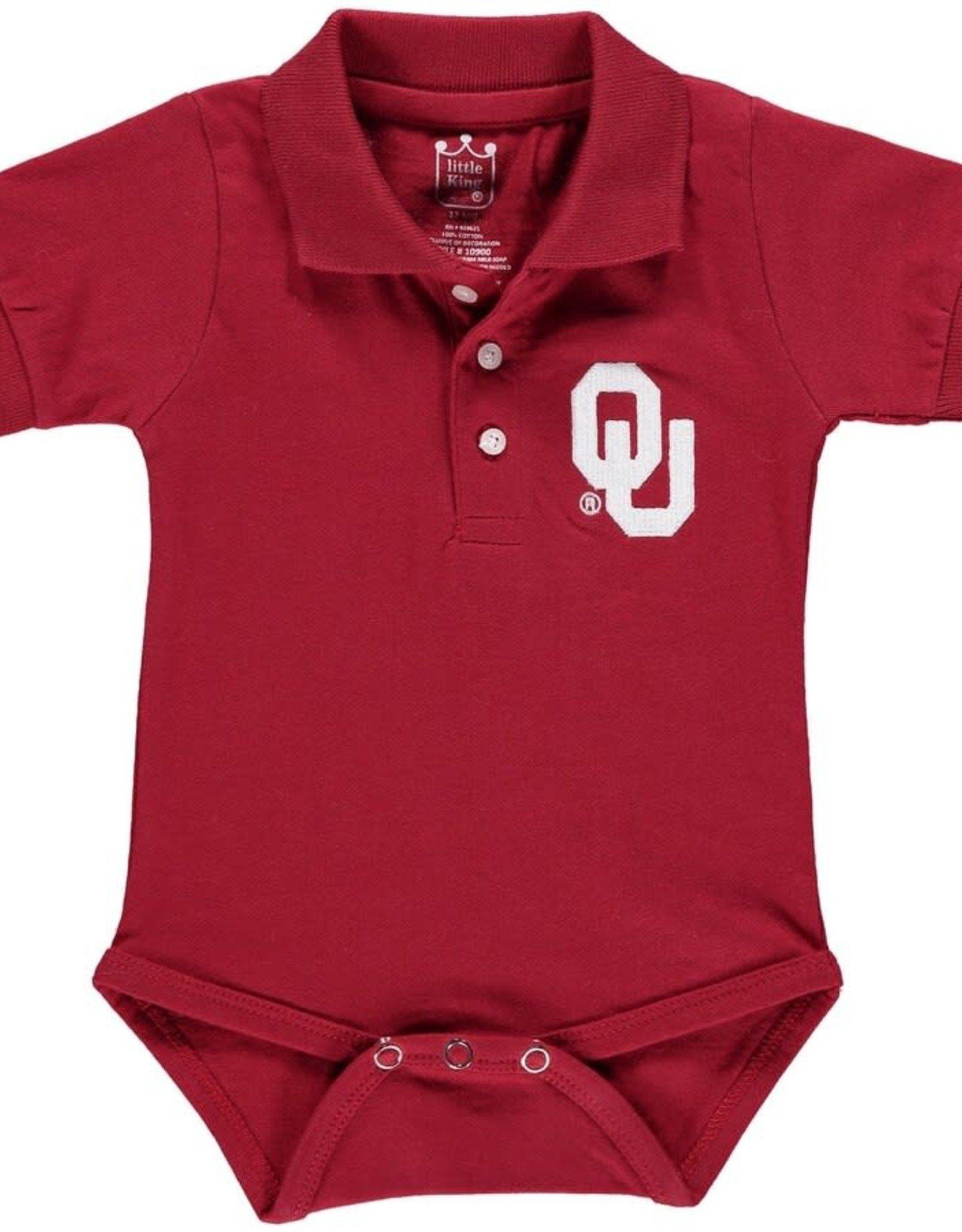 Little King Infant Cotton Polo Onesie