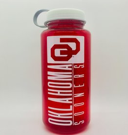 Nordic Oklahoma Sooners OU Crimson 32oz Nalgene Water Bottle