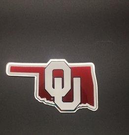 Stockdale OU State Shape Auto Emblem